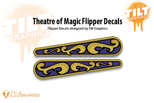 Theatre of Magic Flipper Decals