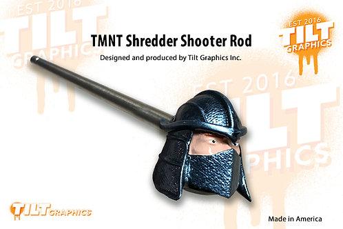 TMNT Shredder inspired Shooter Rod