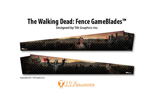 The Walking Dead: Fence GameBlades™