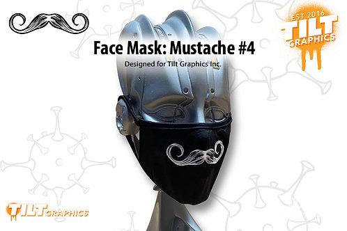 Face Mask: Mustache 4