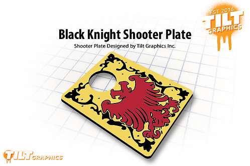 Black Knight Shooter Plate