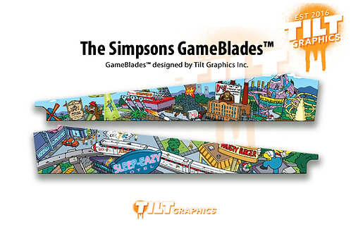 The Simpsons:  CityScape GameBlades™