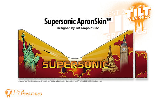 Supersonic Custom Metal Apron