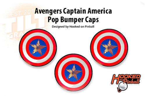 Avengers Captain America Custom Bumper Caps