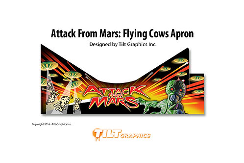Attack From Mars Apron