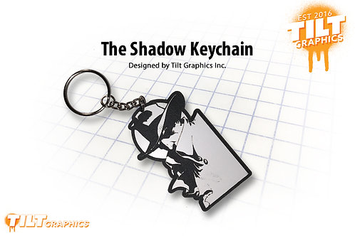 The Shadow Custom Keychain