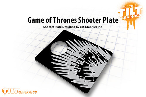 Game of Thrones: Throne Shooter Plate