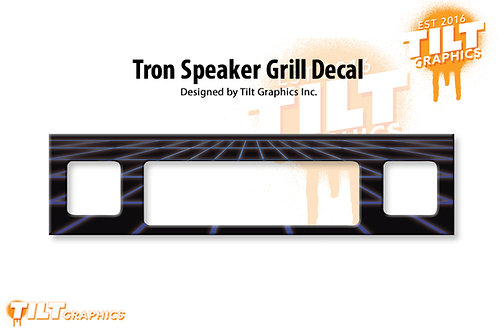 Tron: Perspective Speaker Grill