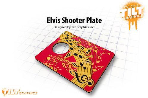 Elvis 3D Shooter Plate