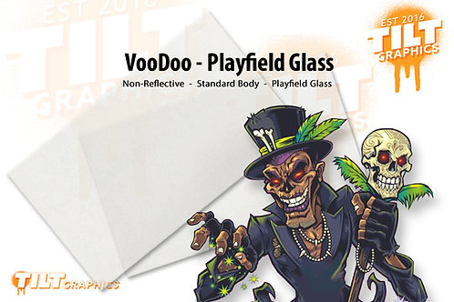 VooDoo Glass - 2 Pack Playfield Glass