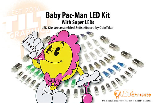 Baby Pac-Man LED Kit with Premium Non-Ghosting LEDs