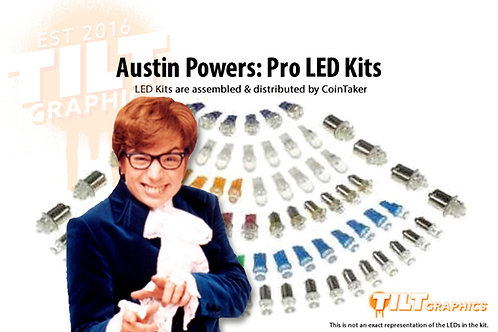Austin Powers: Pro LED Kits