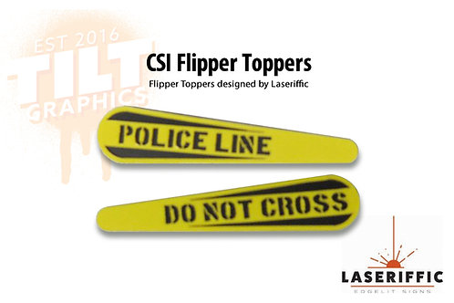 CSI Flipper Toppers