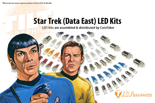 Star Trek (Data East) LED Kits
