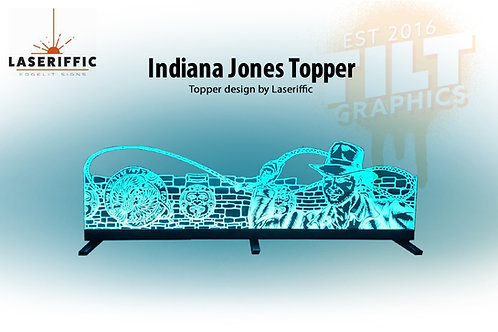 Indiana Jones Pinball Topper - Made in the USA