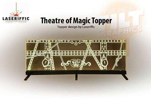 Theatre of Magic Pinball Topper - Made in the USA