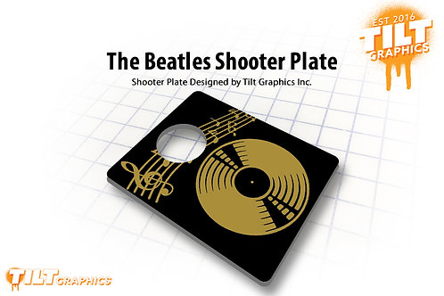 The Beatles Shooter Plate