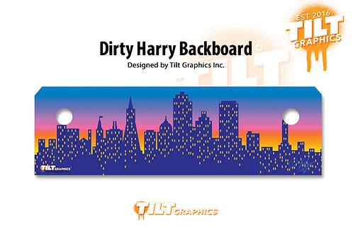 Dirty Harry Backboard