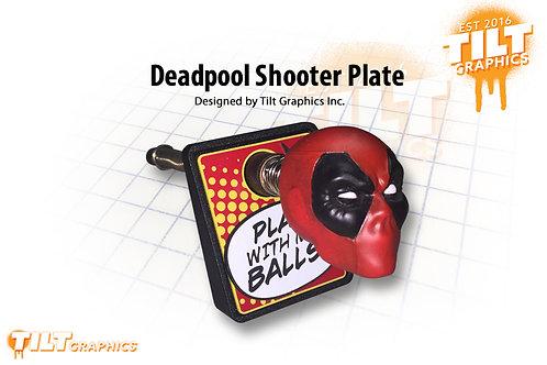 Deadpool Shooter Plate