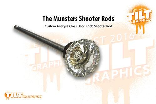 Munsters Glass Door Knob Shooter Rod
