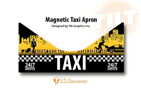 Taxi Magnetic ApronSkin