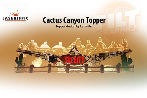 Cactus Canyon Topper - Made in the USA