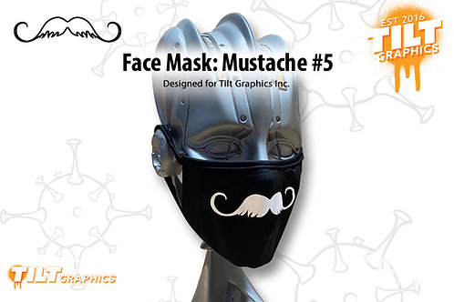 Face Mask: Mustache 5