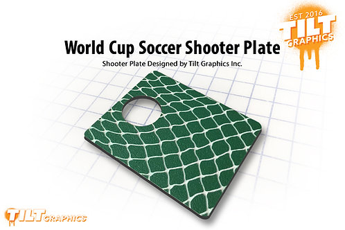 World Cup Soccer Shooter Plate