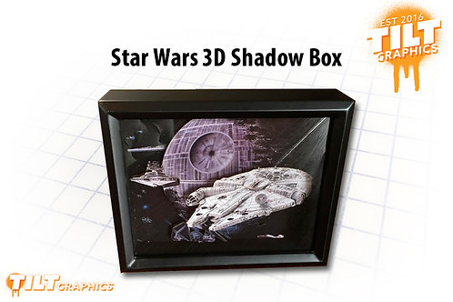 Star Wars Shadow Box