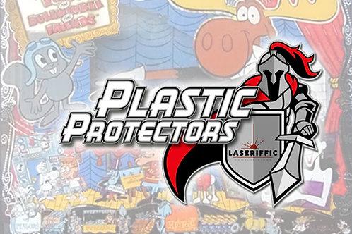 Rocky & Bullwinkle Plastic Protectors