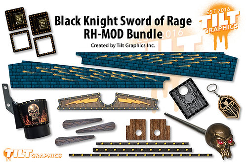 Black Knight Sword of Rage RH Mod Bundle