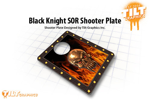 Black Knight: 4 Color Sword of Rage Shooter Plate