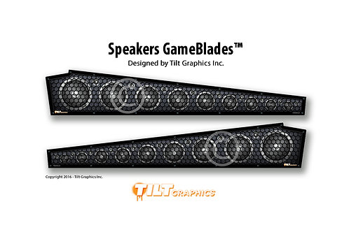 Stern Speakers GameBlades™