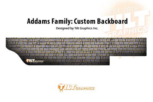 Addams Family: Stone Backboard