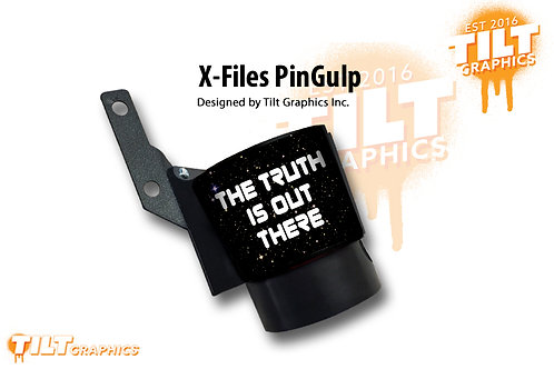 "X-Files ""The Truth"" PinGulp Beverage Caddy"
