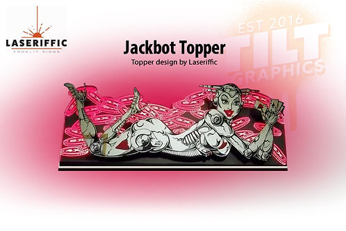 Jackbot Pinball Topper - Made in the USA