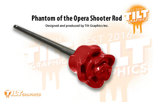 Phantom of the Opera Red Rose Shooter Rod