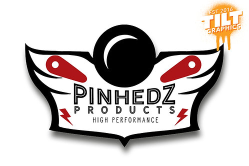 Pinhedz Black Ops Series: Red Microfiber