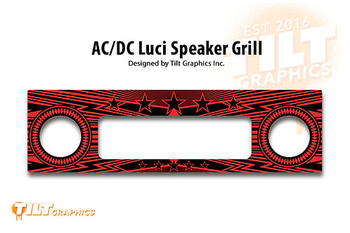 AC/DC Luci Speaker Grill Decal