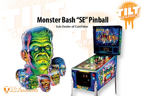 "Monster Bash ""SE"" Pinball Remake by Chicago Gaming Company,"