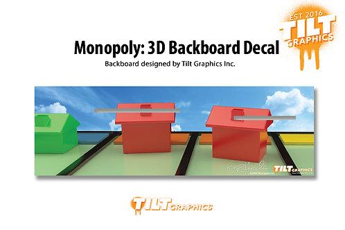 Monopoly: 3D Backboard