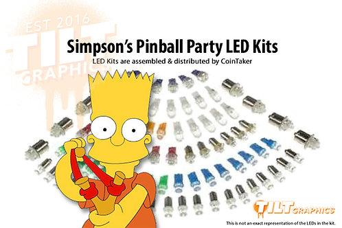 Simpson's Pinball Party LED Kits