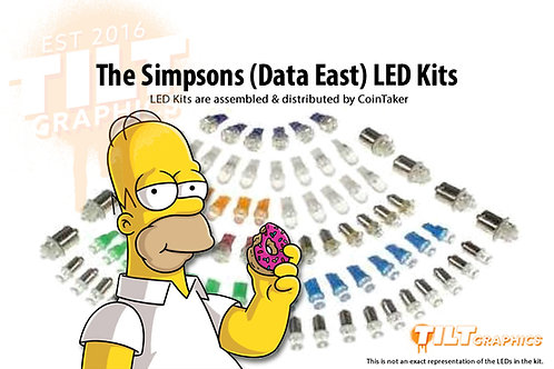 Simpsons Data East LED Kits