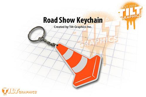 Road Show Custom Keychain
