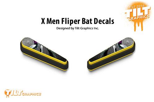 X-Men Flipper Bat Decals