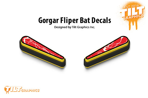 Gorgar Flipper Bat Decals