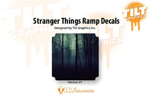 Stranger Things Ramp Decal