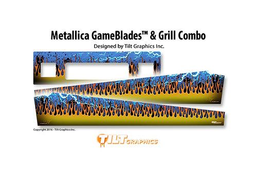 Metallica Speaker Grill & GameBlades™ Combo