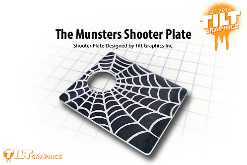 Munster's Grandpa Shooter Plate