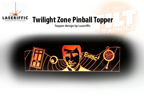 Twilight Zone Pinball Topper - Made in the USA